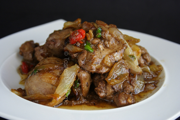 Liver & Onions (Photo by Cynthia Nelson)