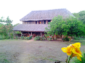 The Guest House, part of Caiman House at Yupukari.