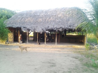 The Stephen's home in Parishara.