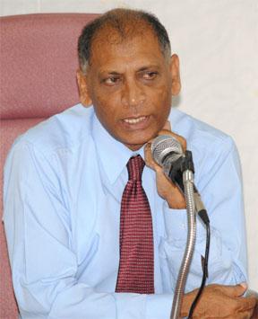 Agriculture Minister Dr Leslie Ramsammy