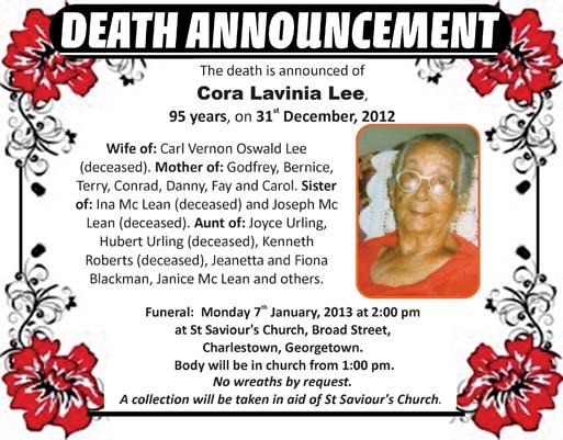 Cora Lee