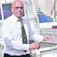 Dr David Ali (Trinidad Express photo)