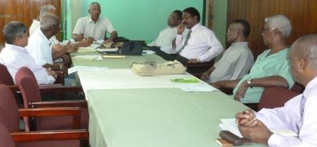 The APNU council meeting (APNU photo)