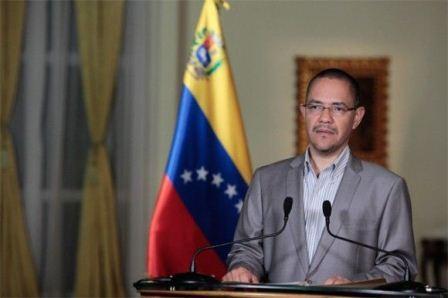 Information Minister Ernesto Villegas