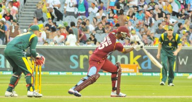 Johnson Charles led a charmed life before scoring his maiden One-Day International century. (Photo courtesy WICB media)