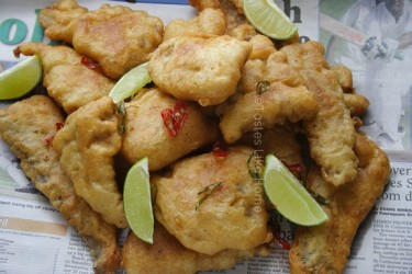 Beer-battered Bangamary  (Photo by Cynthia Nelson)