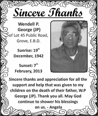 Wendell George (JP)