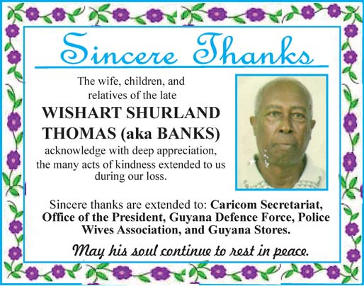 Wishart Thomas aka Banks