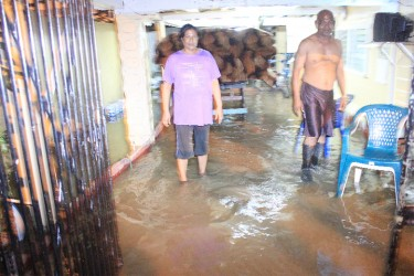 Water Street residents survey their plight