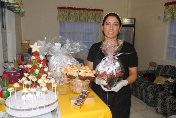 Indra Mekdeci and her creations