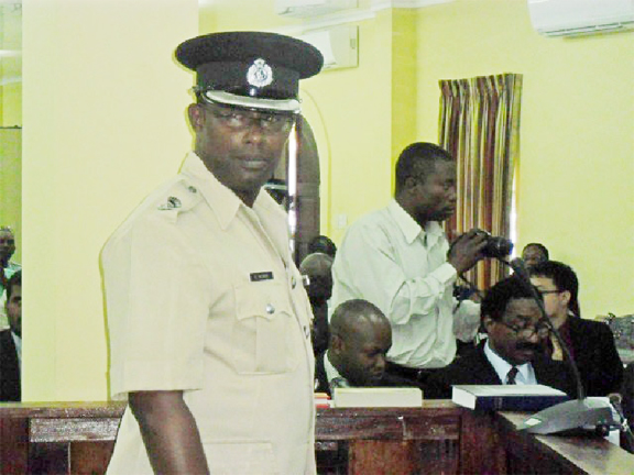 Senior Superintendent of Police Clifton Hicken