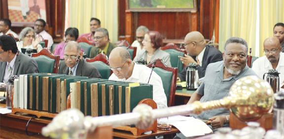 Inside today's National Assembly