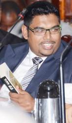 Minister Irfaan Ali