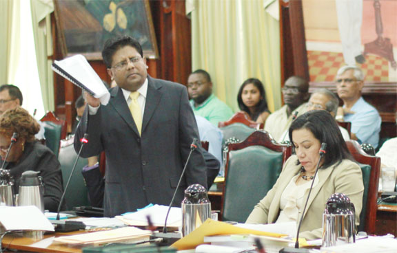 That was so last year – PPP/C MP Dr Ashni Singh defends (Photo by Arian Browne)
