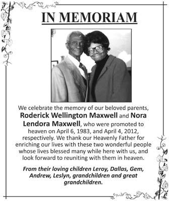 Roderick & Nora Maxwell