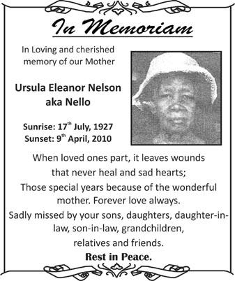 Ursula Nelson aka Nello