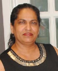 Guyanese shareholder Carolyn Paul