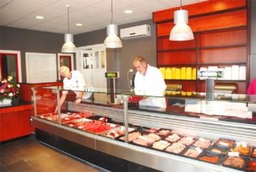 Inside Rosignol Butcheries