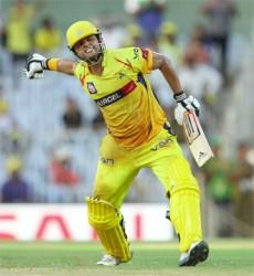 Suresh Raina smashed his first IPL century