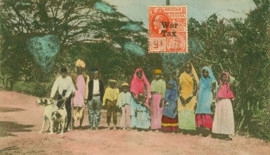 East Indians circa 1915