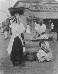 Vegetable sellers in Georgetown circa 1900