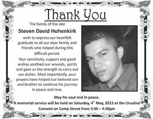 Steven Hohenkirk