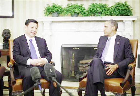 Presidents Xi Jinping and Barack Obama (Reuters)