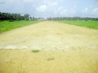 What the airstrip looked like in January 2011 (SN file photo)