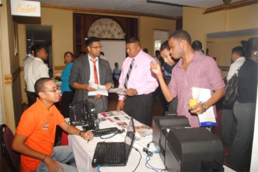 Digital Technology at last Wednesday's Chamber of Commerce Information Technology Forum