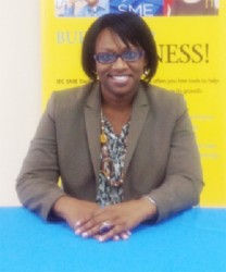 Marketing and Communications Manager of Republic Bank, Michelle Johnson