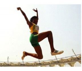 Sylvester cleared 1.86m at the Varsity Centre at the University of Toronto