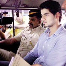 Suraj Pancholi in detention