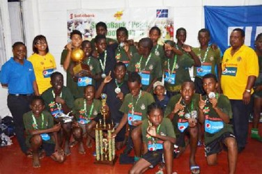 Charlestown Secondary are the male Scotiabank/Pepsi schools football national champions.
