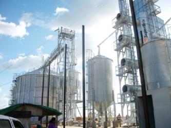 The rice mill at Santa Fe (GINA photo)