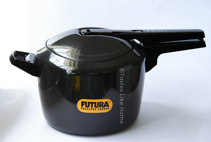 My new baby - The Futura Pressure Cooker (Photo by Cynthia Nelson)