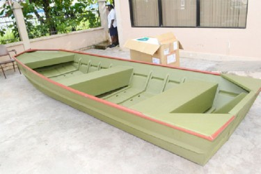 The aluminium boat (GINA photo)