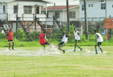 Action between South Ruimveldt Secondary and Dolphin Secondary