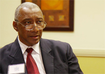 Francis Forbes, Interim Executive Director, CARICOM Implementation Agency for Crime and Security. (Photo: Raúl Sánchez-Azuara/Diálogo Magazine)