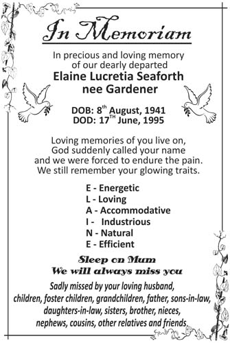 Elaine Seaforth