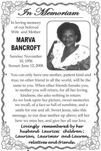Marva Bancroft