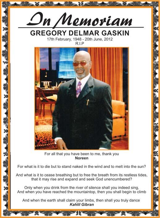 Gregory Gaskin