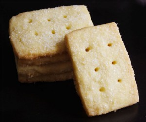 Pure Butter Shortbread Cookies (Photo by Cynthia Nelson)