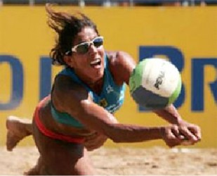 Volleyball legend Jacqueline Cruz Silva