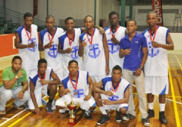 The victorious U20 Champions Marian Academy