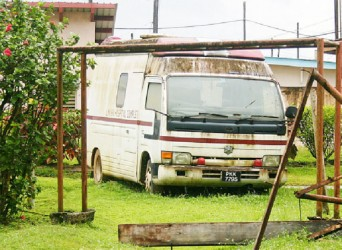 The abandoned ambulance