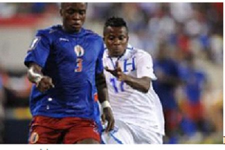 Honduras ruined Haiti's return to Gold Cup Competition.
