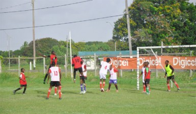 Action between St. George's  and East Ruimveldt