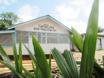 The Tapakuma Agro-Processing plant in Region Two (Government Information Agency photo)