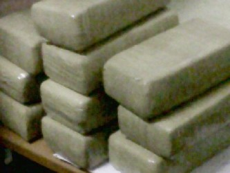 The cocaine that was found at the airport yesterday.