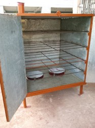 The new oven provided by the Guyana Foundation.